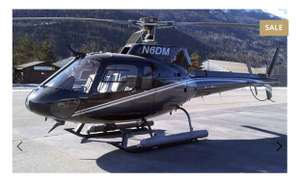 PRICE ERROR!! - £600,000 Eurocopter AS350BA Helicopter for £550 @ Hush Hush