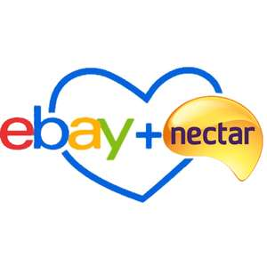 1500 nectar points for a £5 spend on ebay via instore Sainsburys printed coupon.