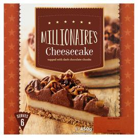 Millionaires Cheesecake 450g  Half Price 75p @ Iceland