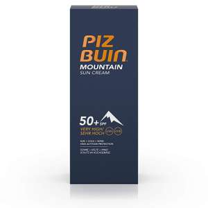Piz Buin Mountain Sun Cream - Reduced to Clear In Store at Tesco Yeovil £2.70