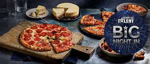 M&S Pizza Meal Deal: 2 Pizzas & 2 Items from Sides Or Dessert £10 (Saving Up To £6)