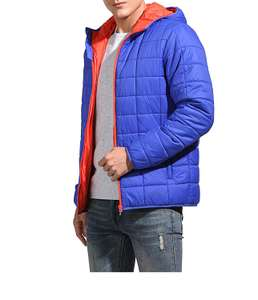 Eono Essentials Men's Insulated Quilted Jacket, Blue or Black £20.99 Amazon