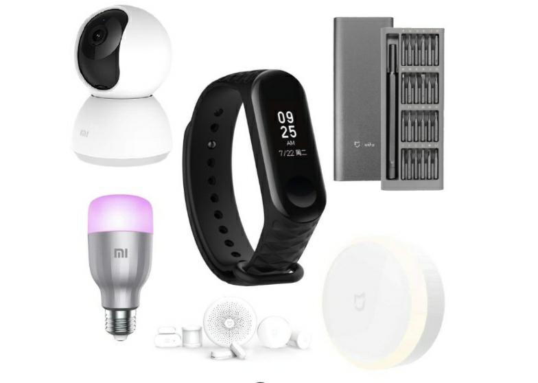 Xiaomi Mi Home Bundle (Night Light, Screwdriver, Mi Band 3, Smart Sensor, Security Camera + Smart Bulb) £149.99 + 2 More Below @ Ebuyer