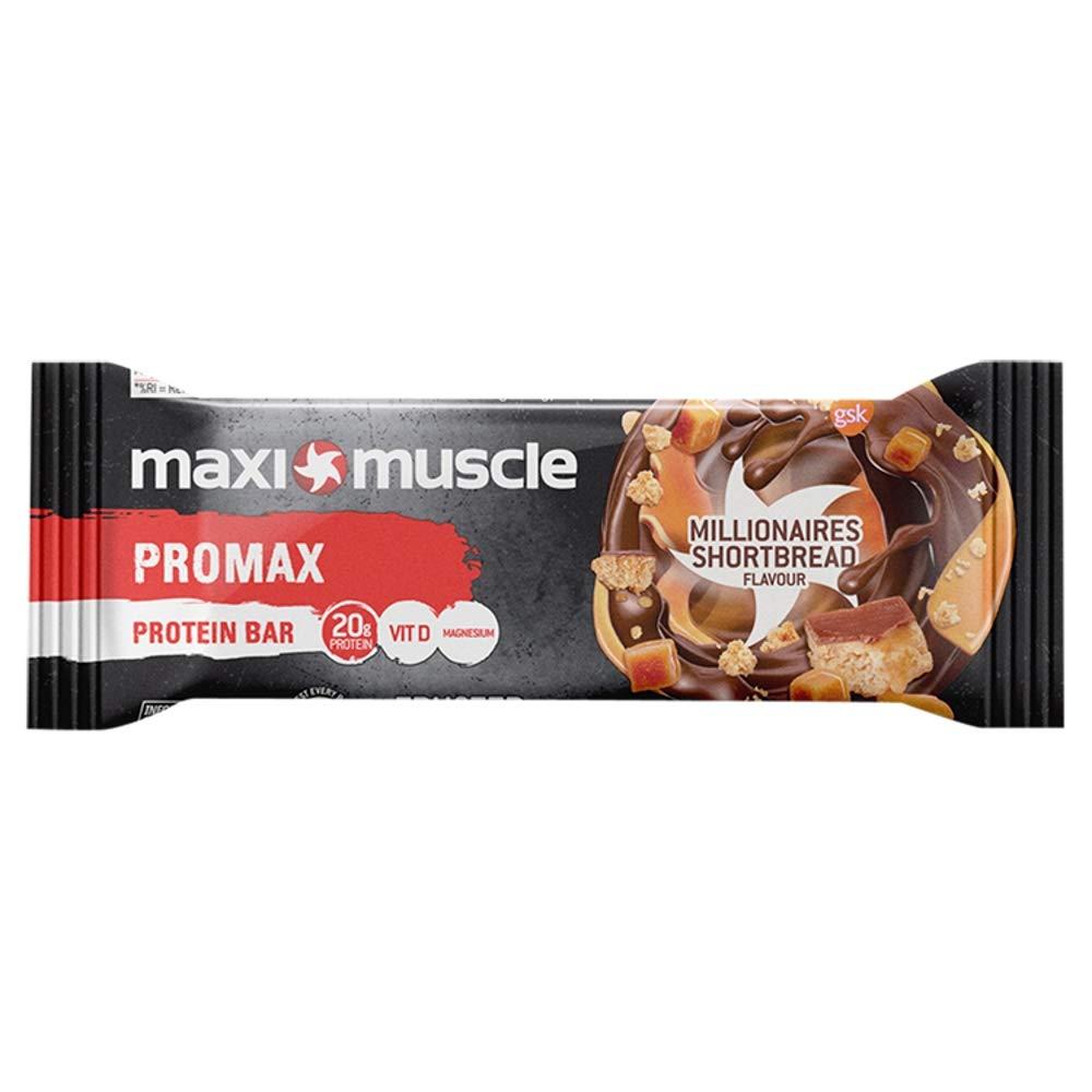 Maxi Muscle Promax Millionaire's Shortbread Protein Bars - £0.39 @ Poundstretcher Margate