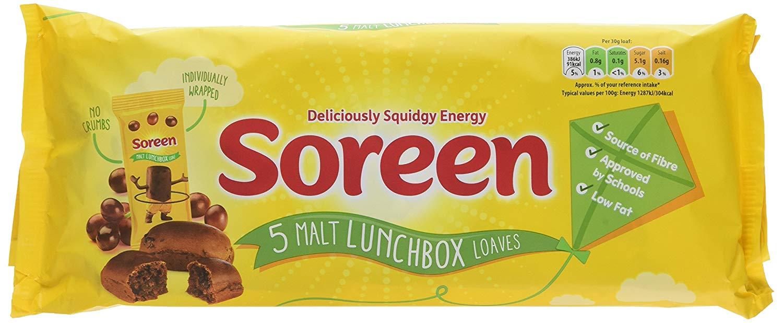 Soreen lunchbox - £1 (£0.50 with cashback via Checkoutsmart) @ Tesco