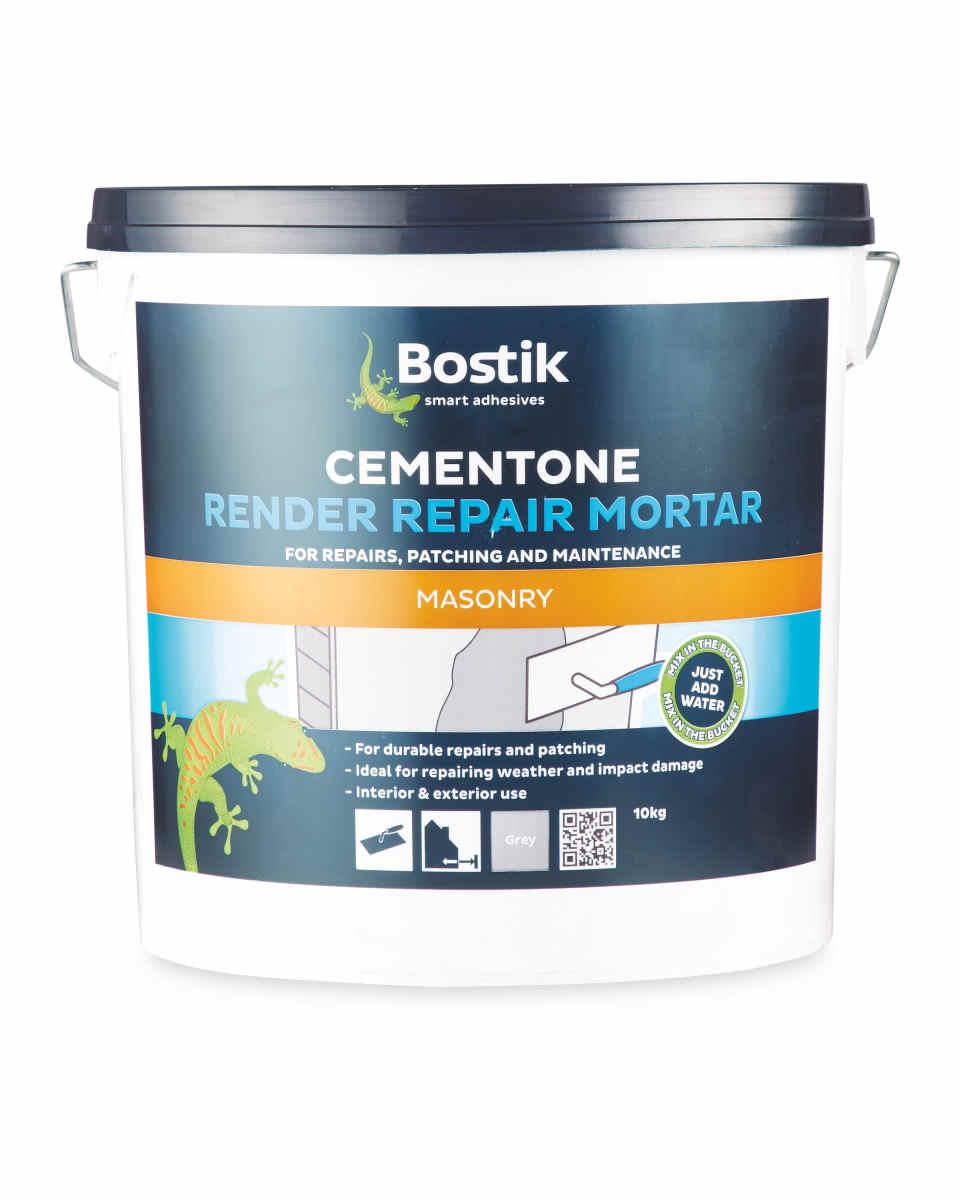 Bostik Cementone Render Repair Mortar 10KG , £9.99 @ Aldi ( Instore / online ) Amazon £25.19
