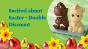 Morrisons Easter Double Discount offer ( in store only ) from 12.04 until 19.04 (inclusive )