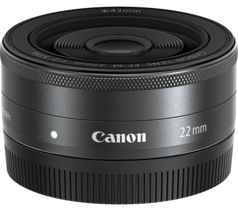 Canon ef-m 22mm f2 pancake prime lens £99 instore @ currys/pcworld