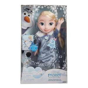 Frozen Elsa Singing Traditions Feature Doll rrp £44.99 now £17.50 +£4.49 Non Prime at Amazon