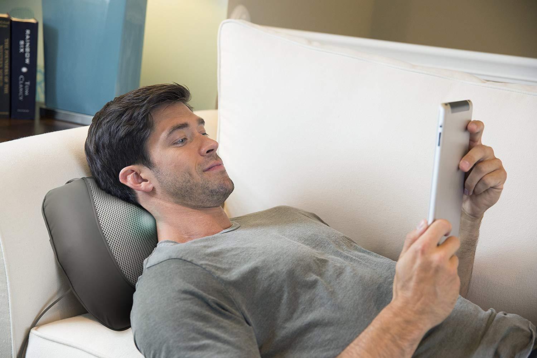 Medisana All-Purpose Deep Kneading Shiatsu Heated Massage Cushion rrp £99.99 now £32.67 delivered at Amazon