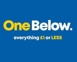 "New £1 Or Less Shop - ""OneBelow"" Opening At Argyle Street, Glasgow, Friday 12th April, 10am (From The Original Poundworld Founders)"