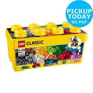 LEGO Classic 10696 Medium Creative Brick Box NOW £16.49 at Argos on eBay