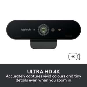 Logitech Brio Gaming Webcam 4K Streaming Edition HD Webcam 1080p Compatible With XBOX £119.99 Amazon