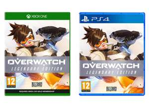 Overwatch Legendary Edition (Xbox One / PS4 / PC) for £17.99 (Prime) / £20.98 (NP) delivered @ Amazon