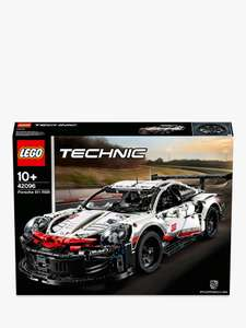 Price match Lego Porsche 42096 and FREE Lego Yacht 42074 Bundle £91.99 PLUS more price matched item bundles at John Lewis & Partners