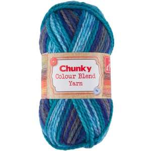 Various Colours of Chunky Yarn 100G for £1.99 @ Poundstretcher