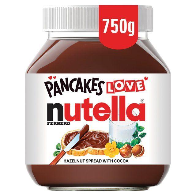Nutella Chocolate Spread 750g £3.50 Sainsbury's
