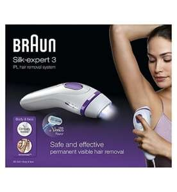 Braun Silk-expert 3 IPL hair removal £115 Boots