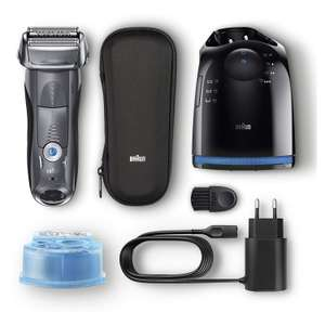 Braun Series 7 898cc  Men's electric wet and dry shaver, charger station and travel case, £99.99 (del included) @ Costco