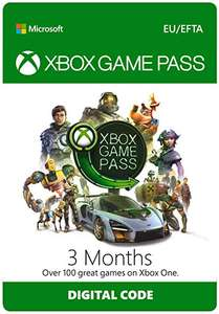 3 Months Xbox Game Pass (Digital) £9.79 @ CDKeys