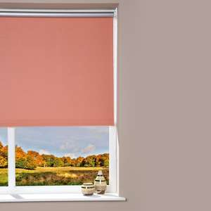 Offers on Blinds from £6.98 Delivered @ Brooklyn Trading - EG Blackout Roller Blind - Peach - 52 x 180cm £6.98 [More in OP]