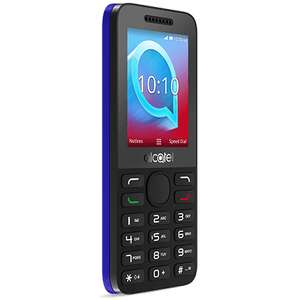Alcatel 2038x 3g phone coco grey and Persian blue - £5 @ O2