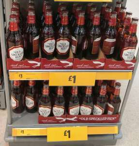 Speckled Hen (5%) / Pedigree (4.5%) - £1 instore @ Morrisons