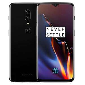 Oneplus 6t 128gb Mirror Black. Refurbished Excellent from Envirophone £339.99