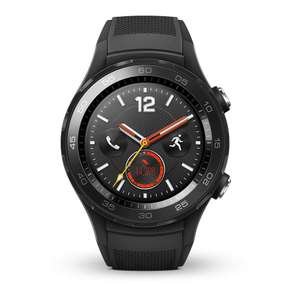 HUAWEI Watch 2 4G LTE - Android Smartwatch (Bluetooth, WiFi) Color Black (Carbon) £148 (£141 With Fee Free) @ Amazon Spain