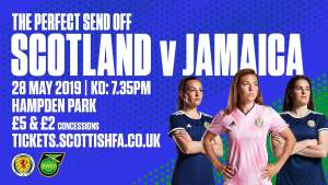 Women's Scotland vs Jamaica Adults: £5 Concessions: £2