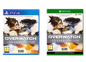 Overwatch Legendary Edition (PS4 / Xbox One) - £14.99 delivered @ Smyths