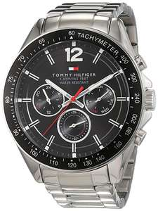Tommy Hilfiger Mens Quartz Watch, multi dial Display and Stainless Steel Strap 1791104 (Used - Like New) @ Amazon Warehouse - £94.78