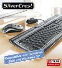 Wireless Keyboard & Wireless Optical Mouse £12.99 @ LIdl Available from 26th May