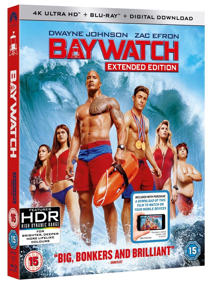 Baywatch (4K Ultra HD + Blu-ray + Digital Download) [UHD