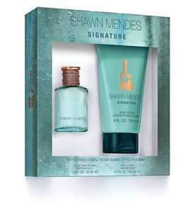 Shawn Mendes 30ml gift set £3 + £1.50 c&c at Boots
