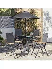 20% extra off at basket on garden furniture & BBQ's eg 6 piece recliner set was £199 now £159.20 + £14.95 delivery @ George Asda