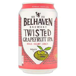 Belhaven Twisted Grapefruit IPA 45p at Tesco instore (Irlam)