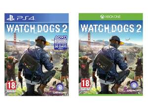 Watch Dogs 2 (PS4 / Xbox One) for £9.99 delivered @ 365games