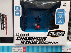 Remote Controlled Indoor Helicopter £14.99 Matalan instore
