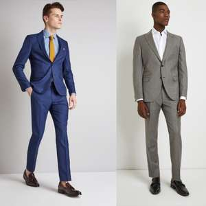 Ends Tonight: 39 different 2 Piece Suits priced at just £89 + Free Delivery @ Moss Bros