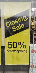 Clas Ohlson closing down sale (Ealing Broadway) London- 50% on all stock. Hurry!