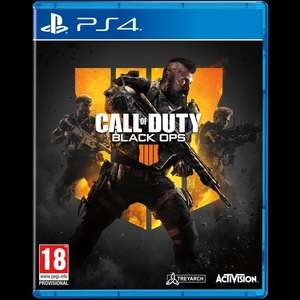 Call of Duty Black Ops4 - £26.99 @ Game