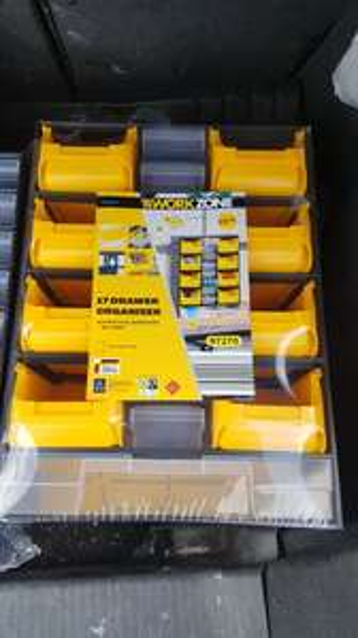 Workzone accessory drawer organisers £0.99 @ Aldi (Old Swan)