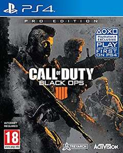 Call of Duty: Black Ops 4 Pro Edition PS4 £38.35 @ Amazon
