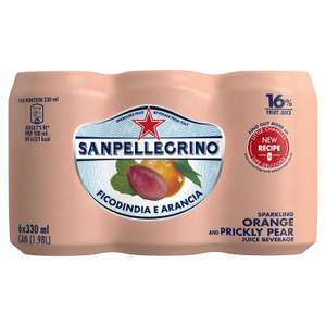 San Pellegrino Prickly Pear Can 6x330ml @ Poundstretcher Instore (Great Yarmouth Town Centre) £2.99