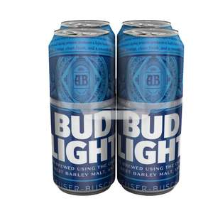 Bud Light 4x440ml £2 @ Sainsbury's