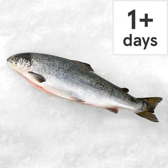 Whole salmon at Tesco fish counter £5.50 per kg