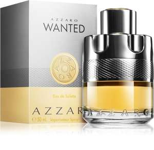 Azzaro Wanted- EDT for Men 100 ml £31.04 + £3.99 Delivery @ Notino