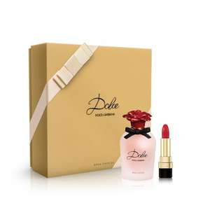 Dolce&Gabbana Dolce Rosa Eau de Parfum 50ml Gift Set with free Givenchy sample - £29.70 @ Boots Free C&C