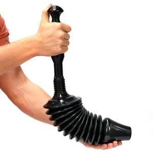 Power Toilet Plunger - £6.99 + £1.99 Delivery @ shop4world